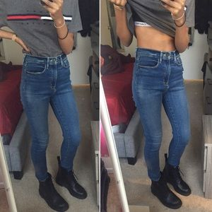 URBAN OUTFITTERS BDG TWIG SUPER HIGH RISE SKINNY